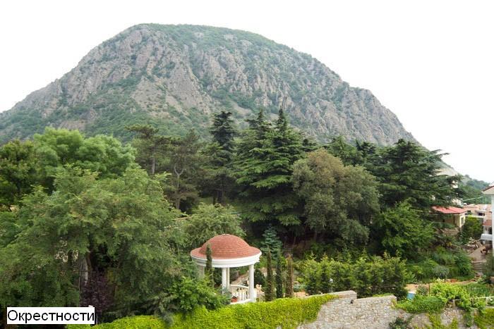 Отдых в в горах крыма гостиницы
